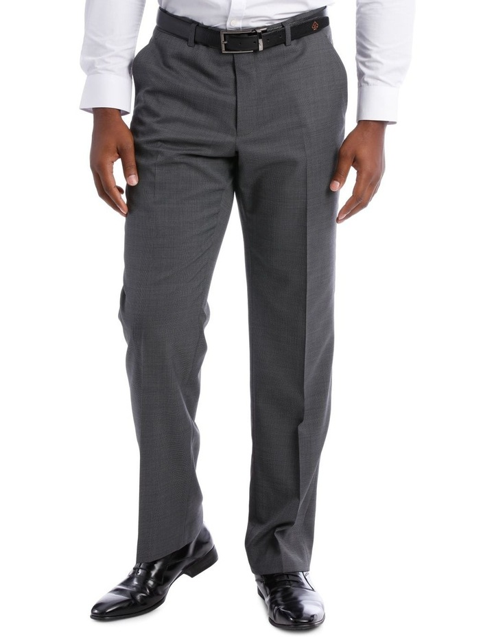 Classic Grey Texture Suit Trouser image 1