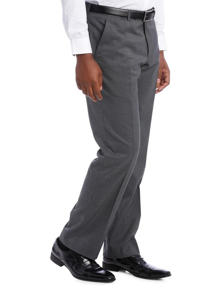 Classic Grey Texture Suit Trouser image 2