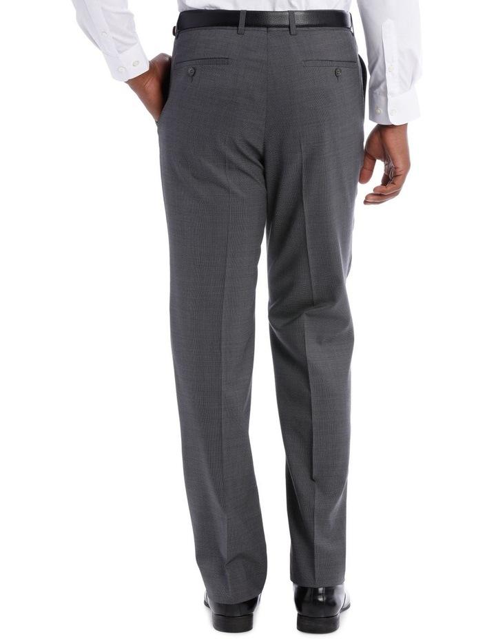 Classic Grey Texture Suit Trouser image 3