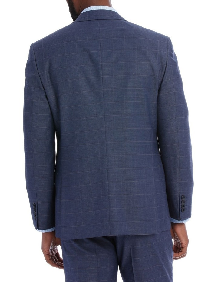 Petrol Check Suit Jacket image 3