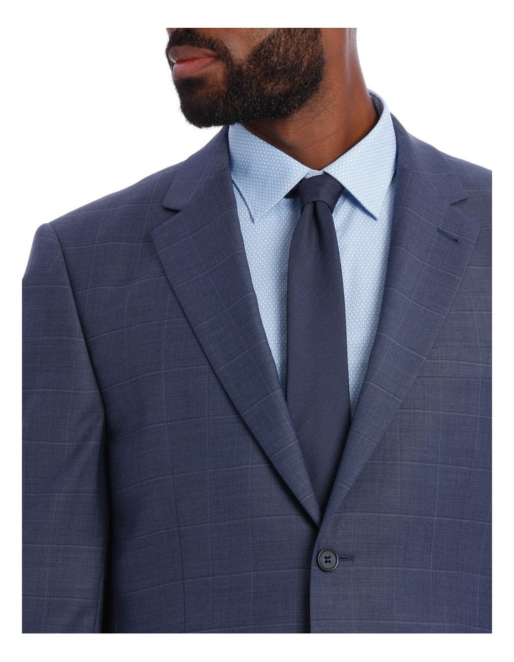 Petrol Check Suit Jacket image 4