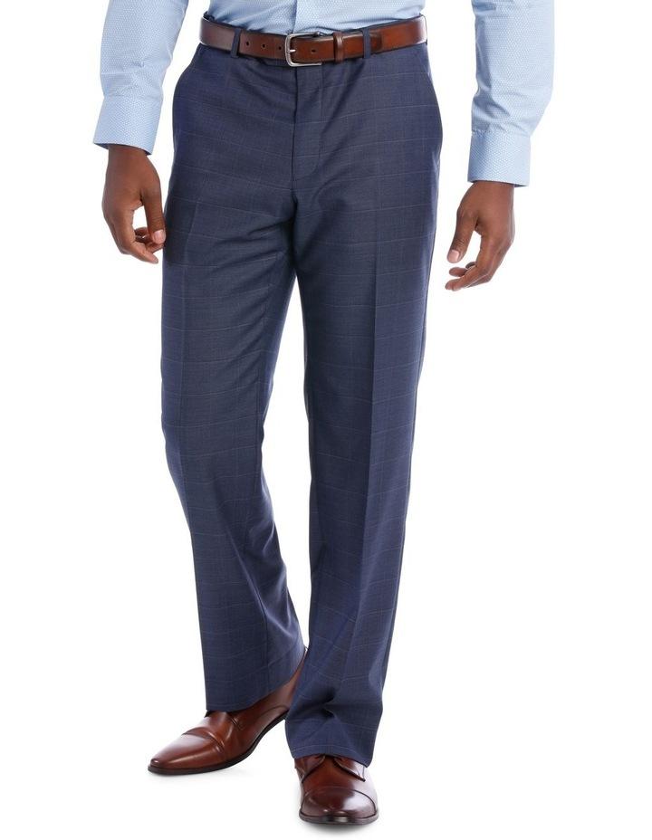 Petrol Check Suit Trouser image 1