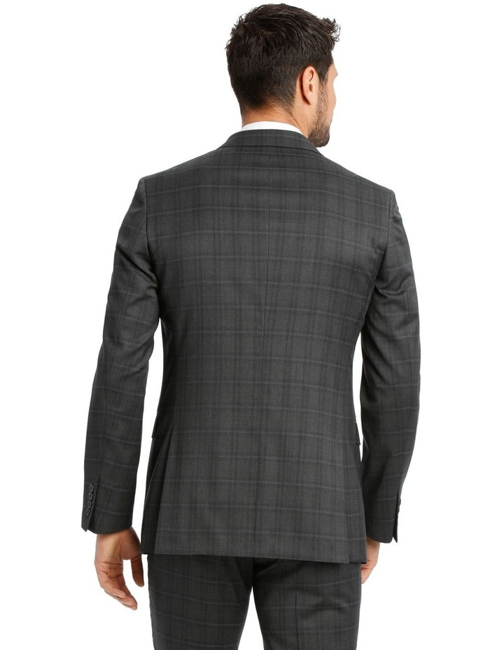 Charcoal Check Suit Jacket image 3