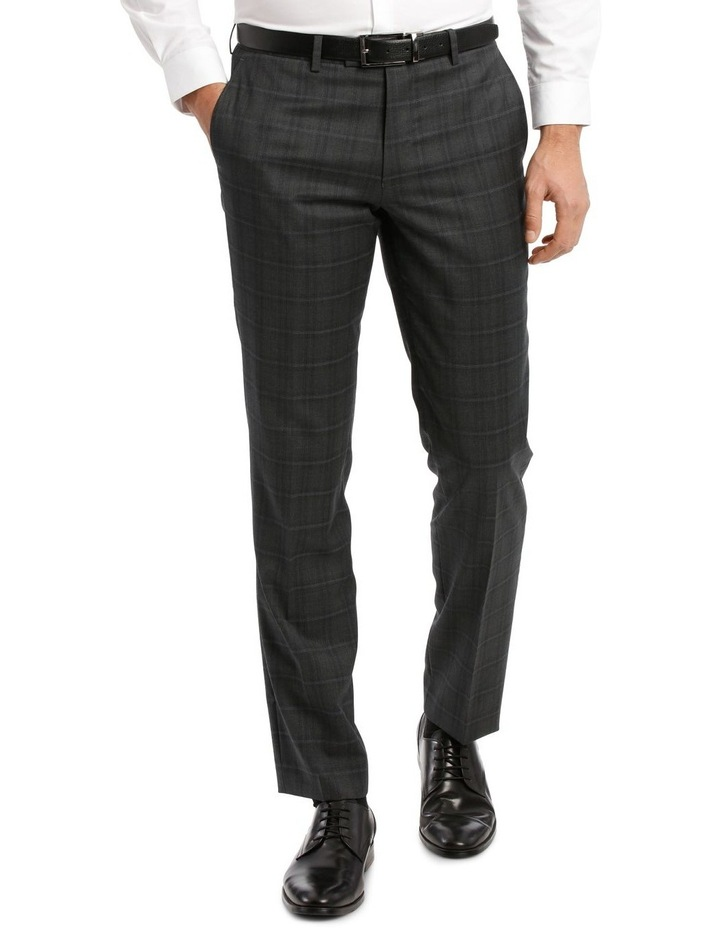 Charcoal Check Suit Trouser image 1