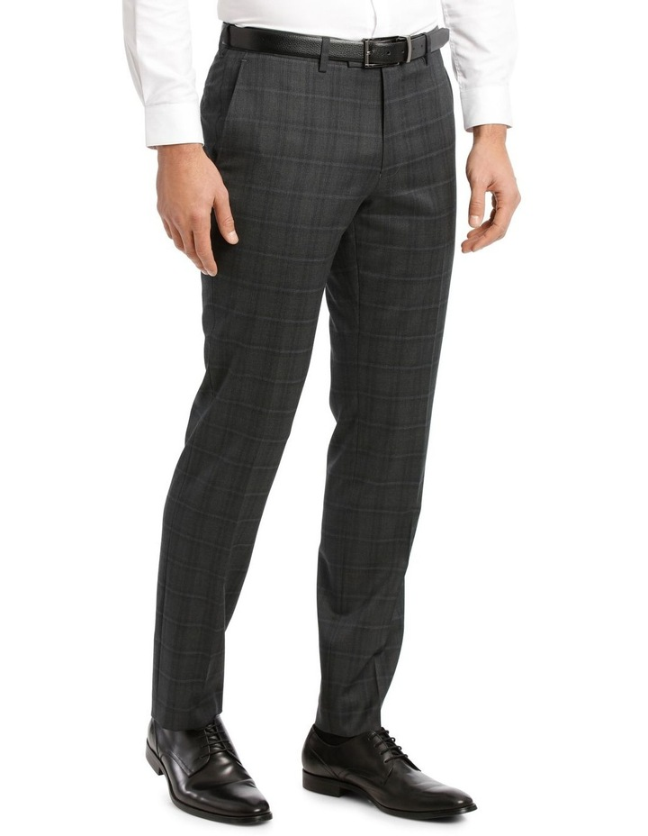 Charcoal Check Suit Trouser image 2