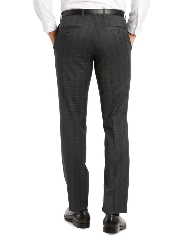 Charcoal Check Suit Trouser image 3