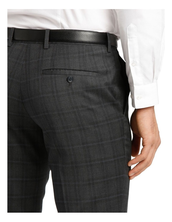 Charcoal Check Suit Trouser image 4