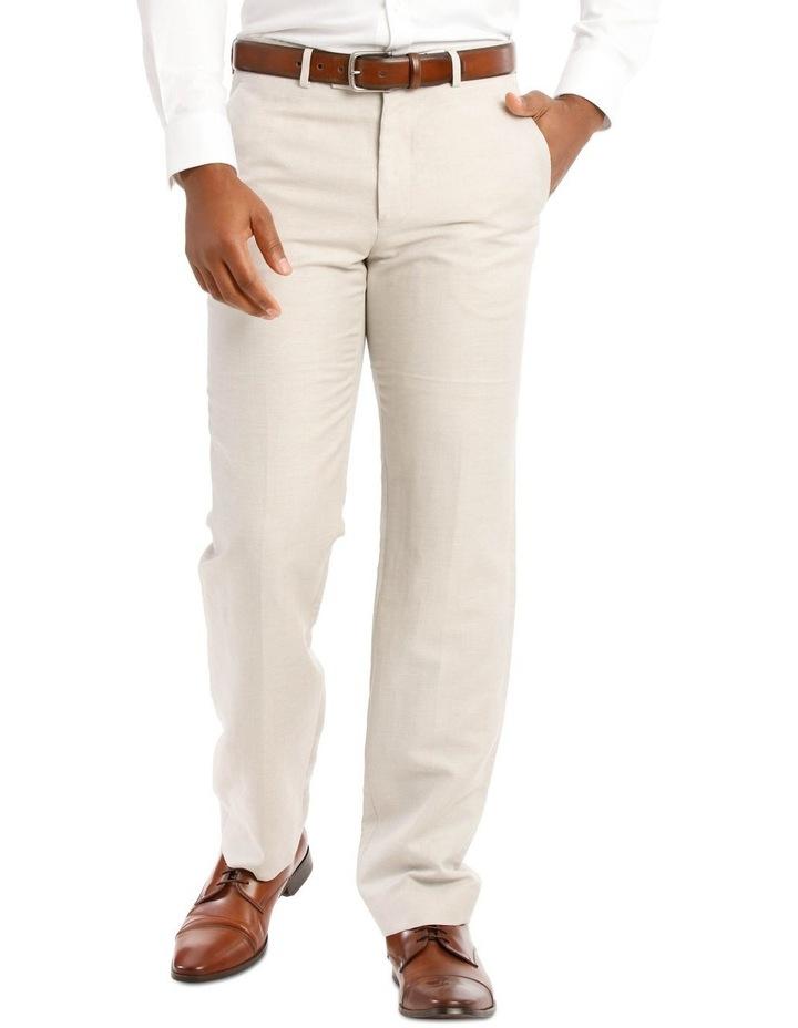 Natural Wool Linen Suit Trouser image 1