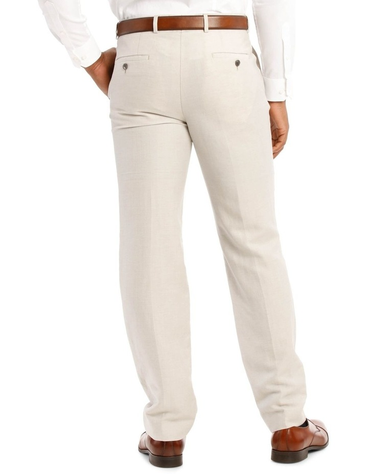 Natural Wool Linen Suit Trouser image 3