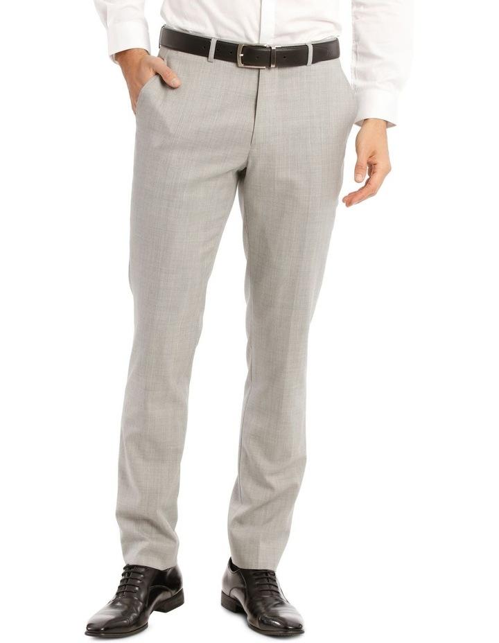Light Grey Marle Suit Jacket Trouser image 1