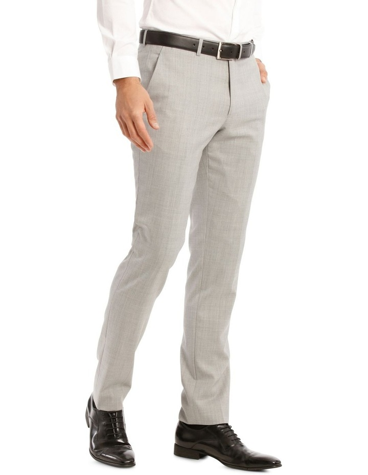 Light Grey Marle Suit Jacket Trouser image 2