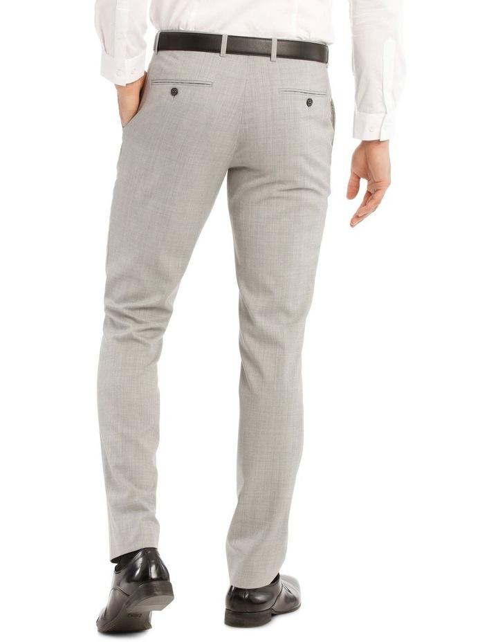 Light Grey Marle Suit Jacket Trouser image 3