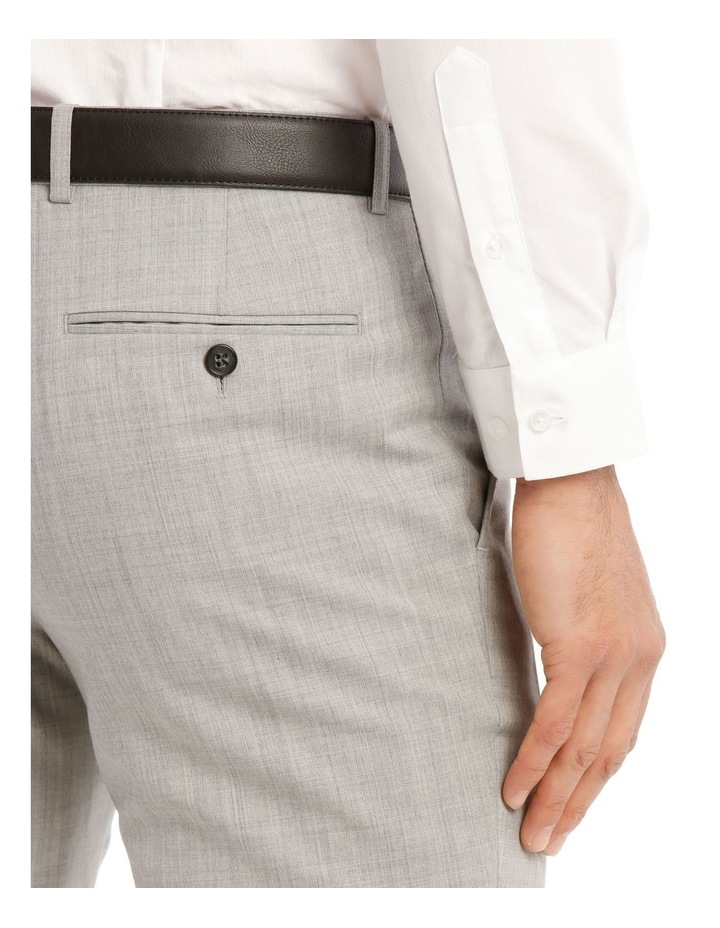 Light Grey Marle Suit Jacket Trouser image 4
