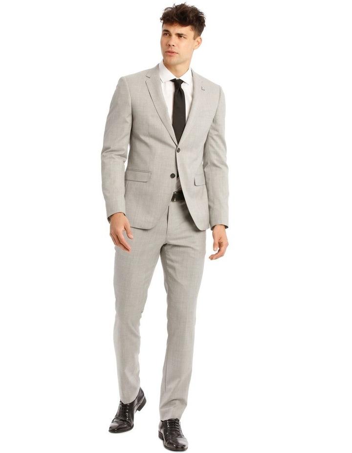 Light Grey Marle Suit Jacket Trouser image 5