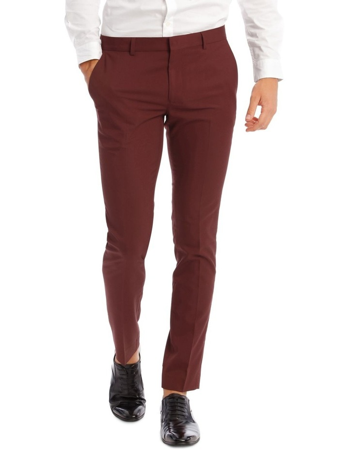 Cherry Bomb Skinny Suit Trousers image 1