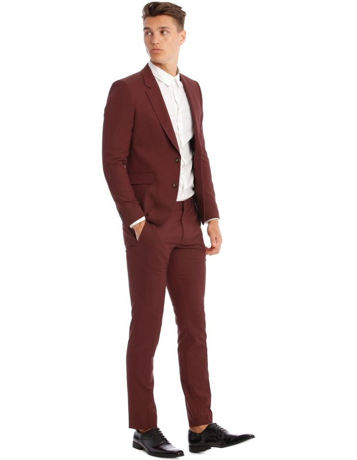 Cherry Bomb Skinny Suit Trousers image 2