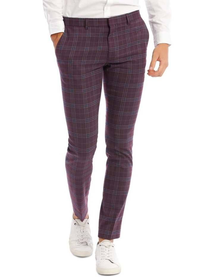 The Mirage Check Skinny Suit Trouser image 1