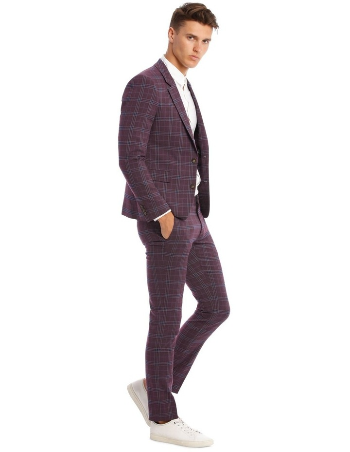 The Mirage Check Skinny Suit Trouser image 2