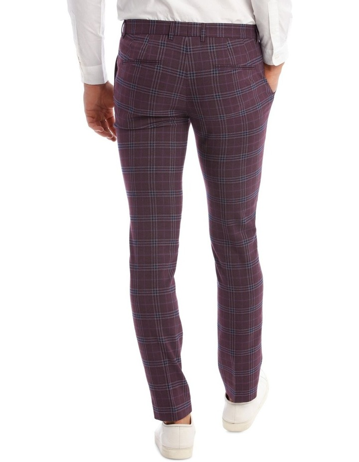 The Mirage Check Skinny Suit Trouser image 3