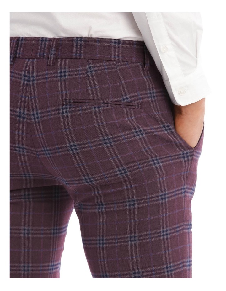 The Mirage Check Skinny Suit Trouser image 4