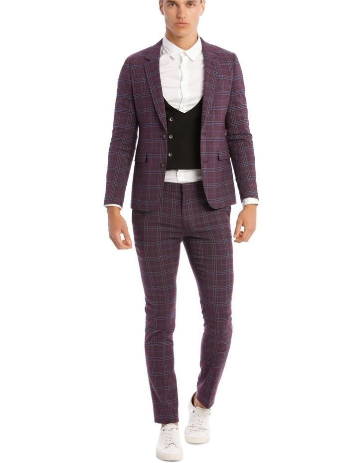 The Mirage Check Skinny Suit Trouser image 5