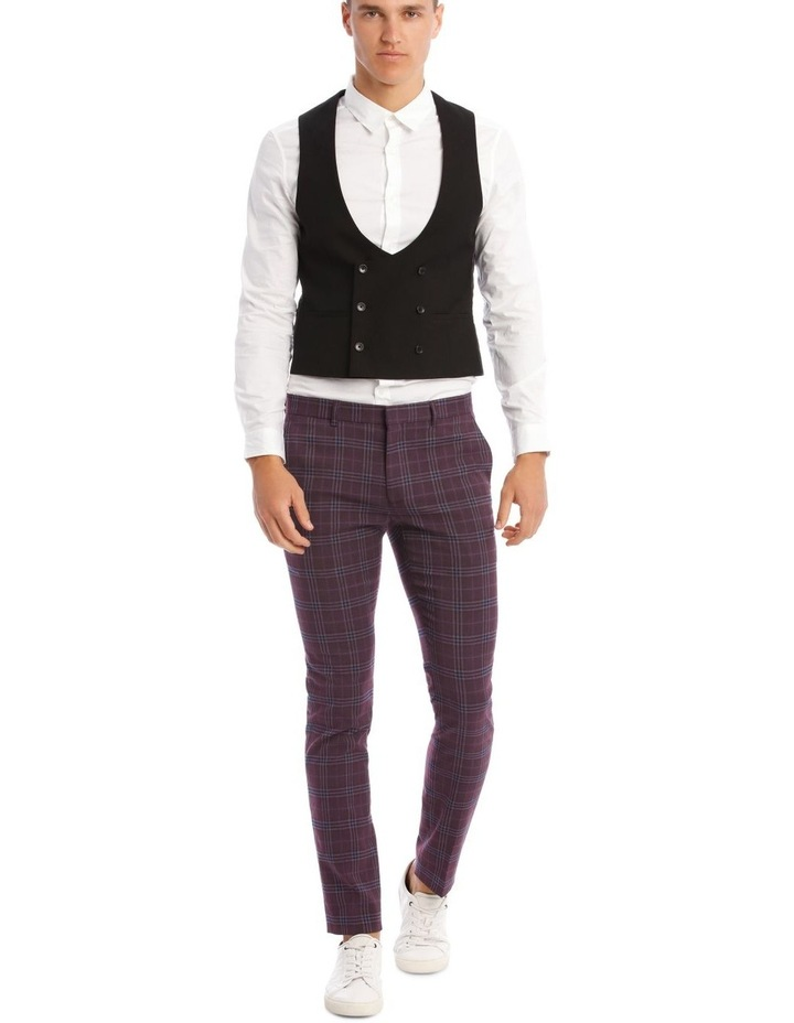 The Mirage Check Skinny Suit Trouser image 6