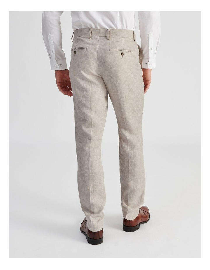 Natural Linen Suit Trouser image 4