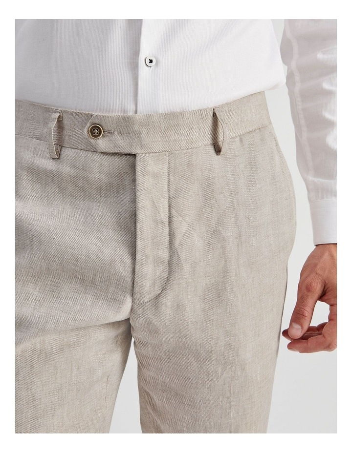 Natural Linen Suit Trouser image 5