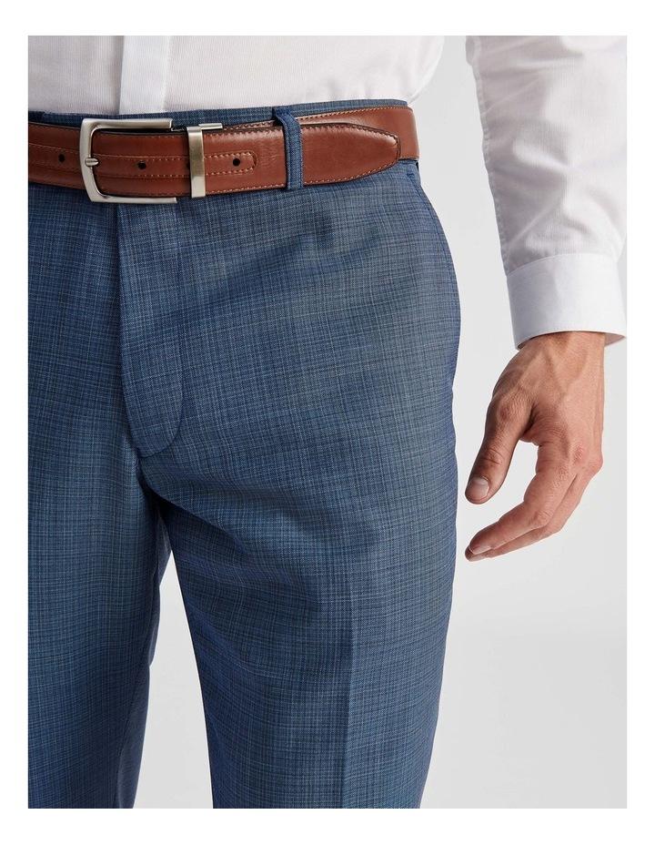 Blue Micro-check Suit Trouser image 5