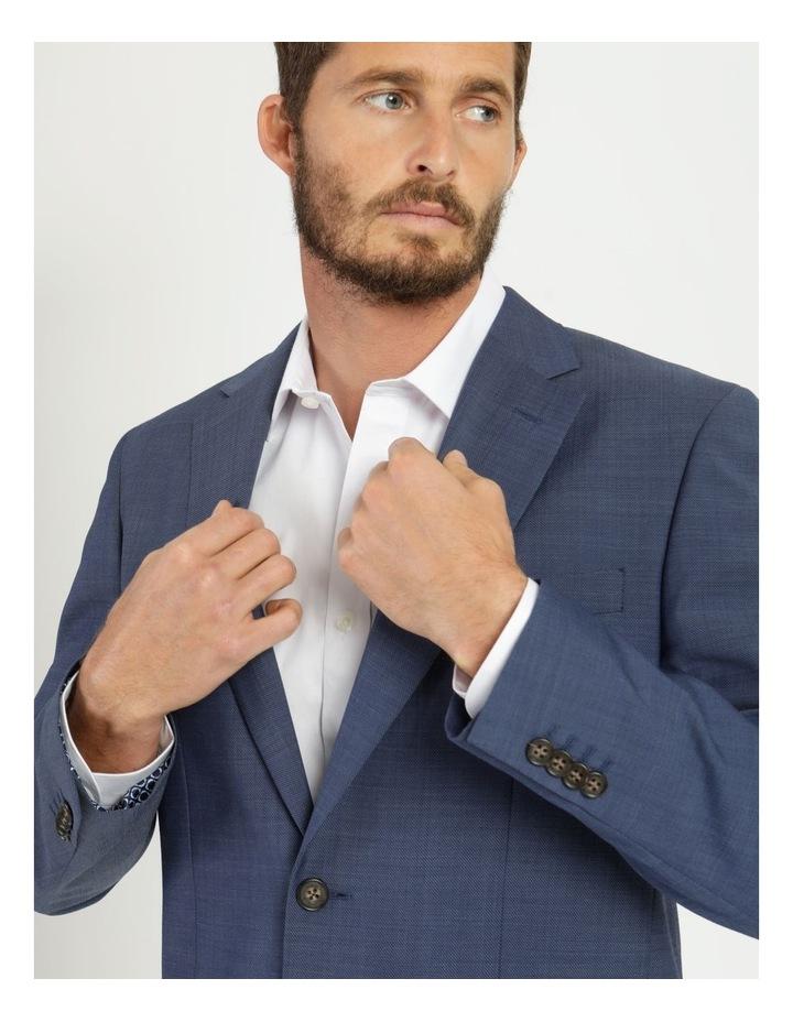 Classic Blue Textured Suit Jacket image 2