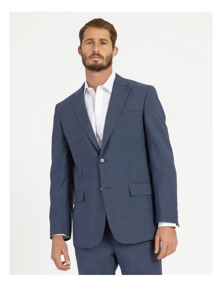 Classic Blue Textured Suit Jacket image 4