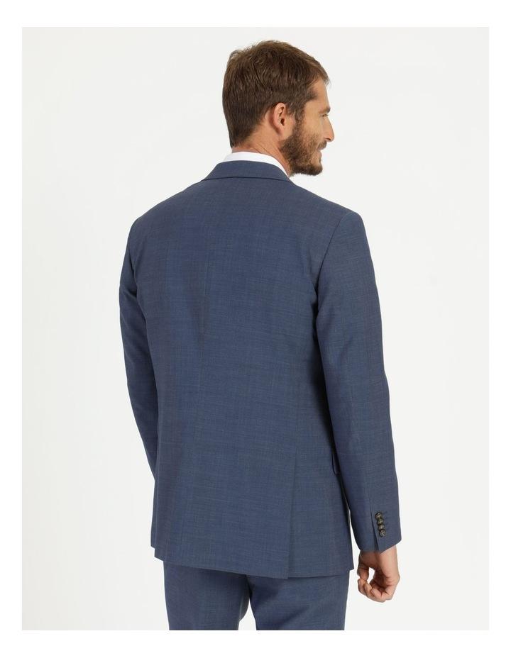 Classic Blue Textured Suit Jacket image 5