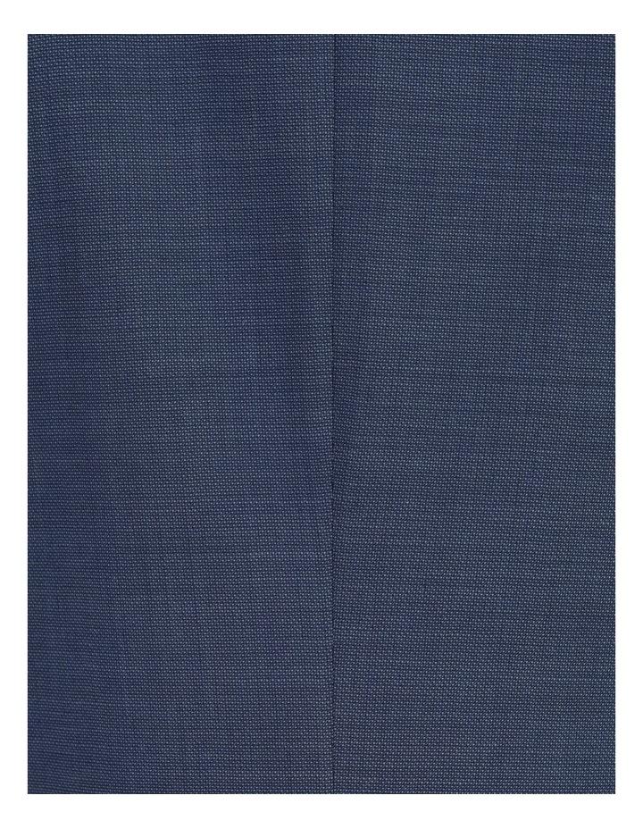 Classic Blue Textured Suit Jacket image 7