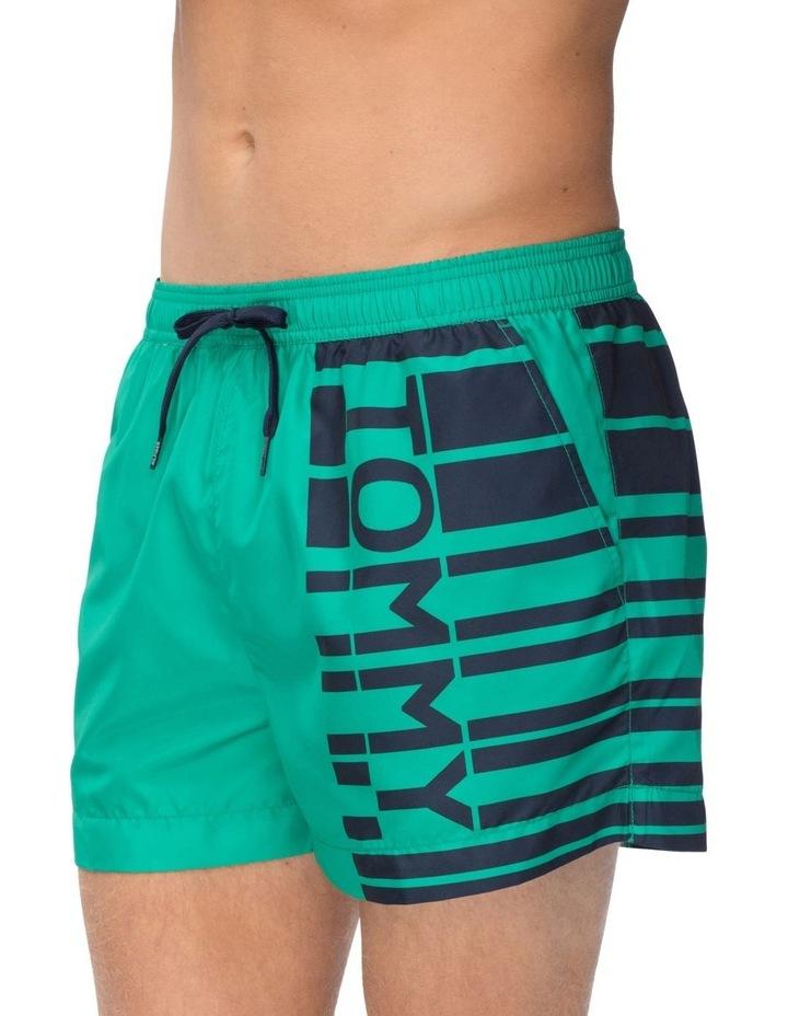 Recycled Polyester Logo Swim Shorts image 1