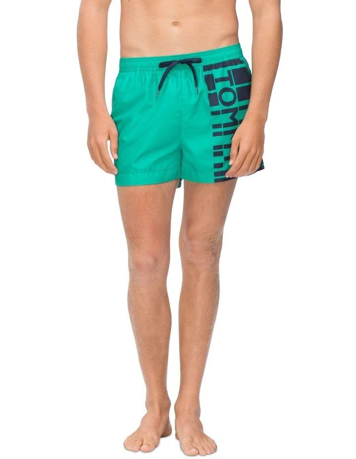 Recycled Polyester Logo Swim Shorts image 2