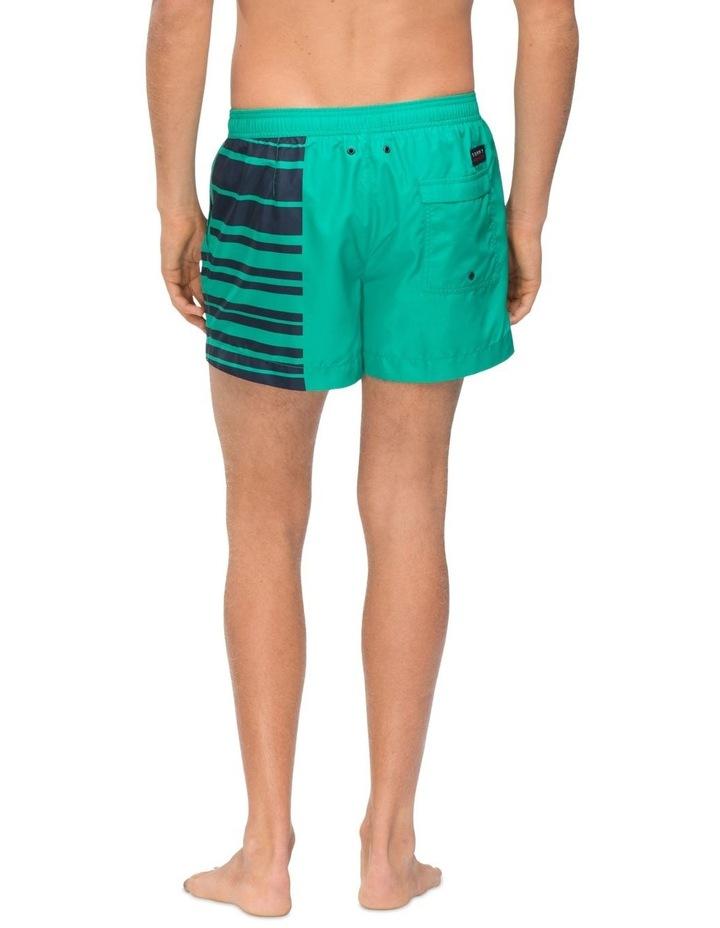 Recycled Polyester Logo Swim Shorts image 3