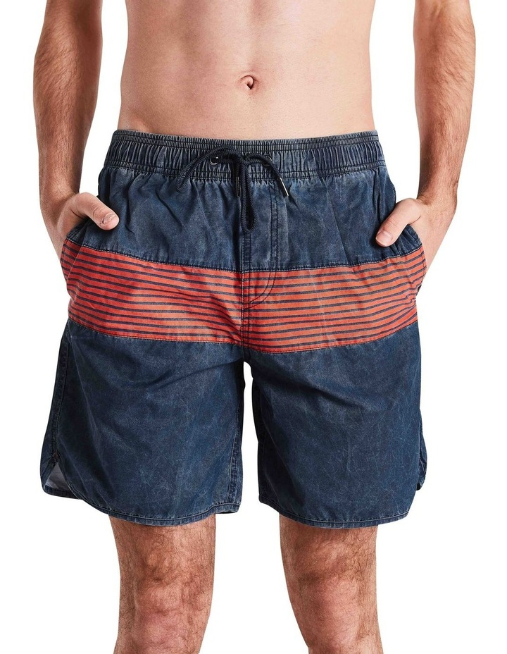 Vintage Stripe Panel Boardshort image 1
