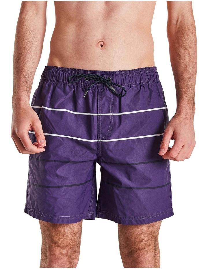 Parallel Stripe Boardshort image 1