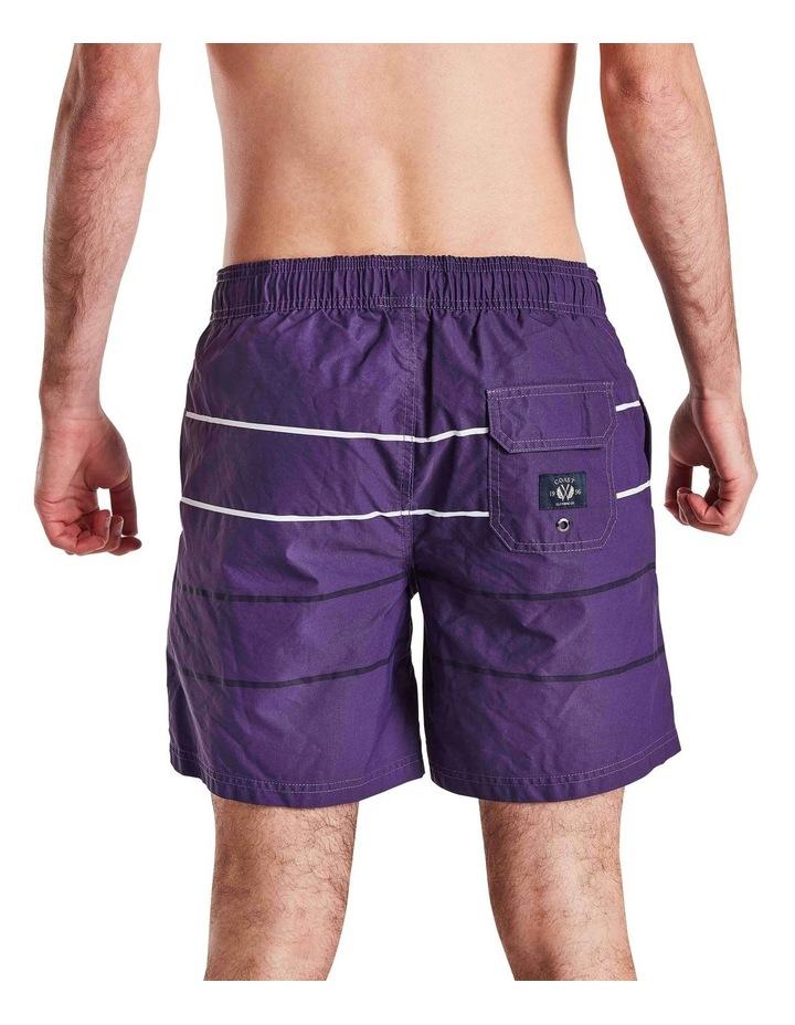 Parallel Stripe Boardshort image 4