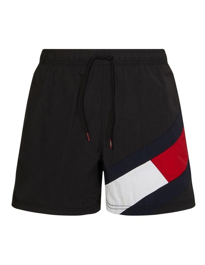 Solid Flag Swimshort Black image 2