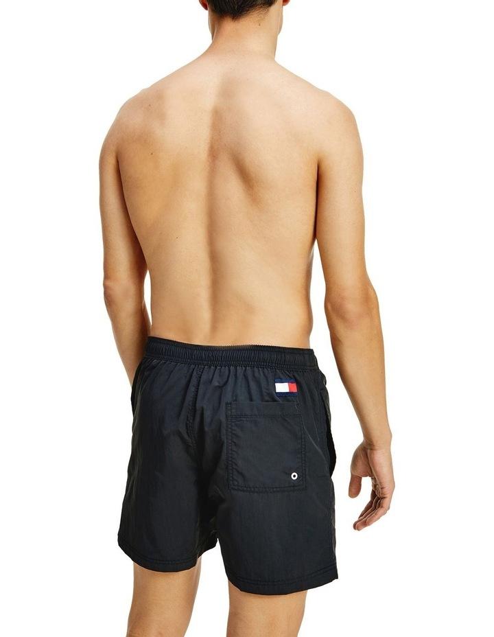 Solid Flag Swimshort Black image 3