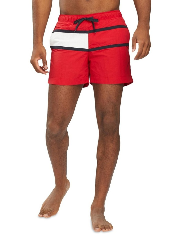 Core Flag Swimshort Red image 1