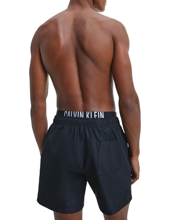 Intense Power Double Waistband Medium Swim Shorts image 3