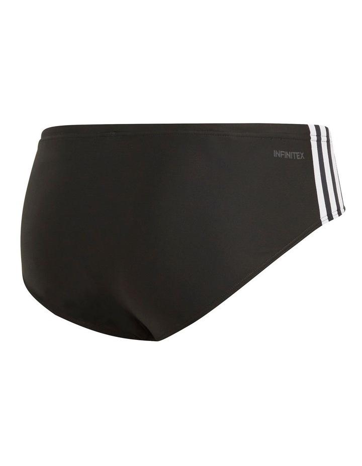 Fitness 3-Stripes Swim Trunks image 2