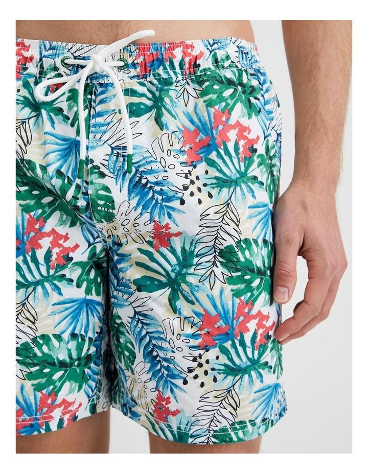 Bright Tropical Swim Short image 4