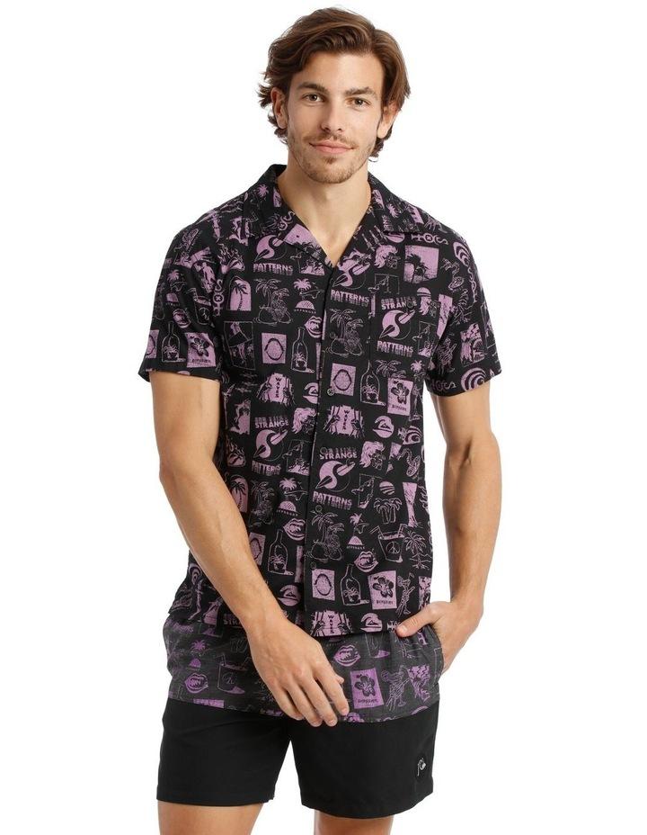 Strange Patterns Camp Short Sleeve Shirt image 1