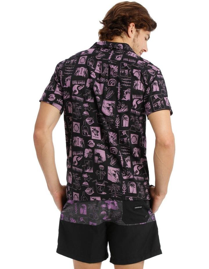 Strange Patterns Camp Short Sleeve Shirt image 3