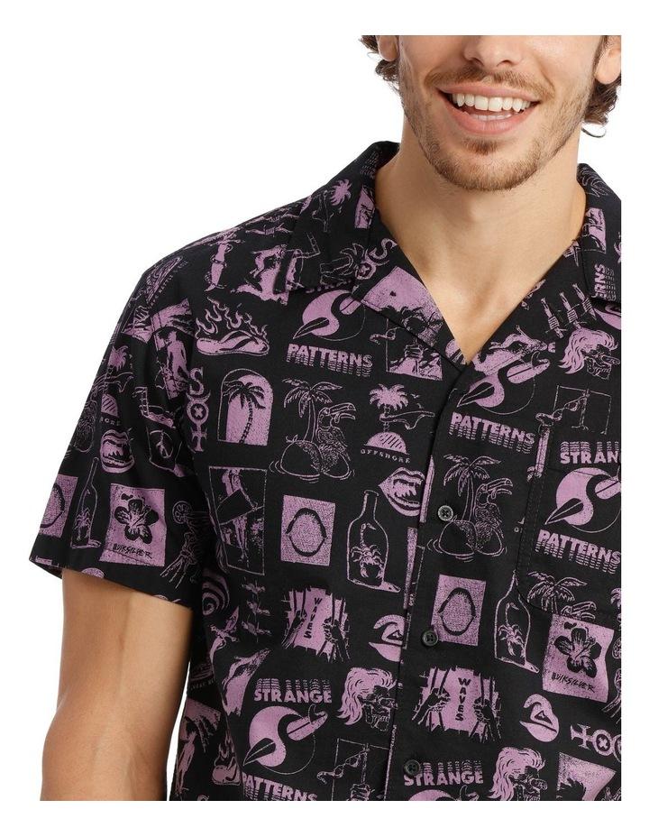 Strange Patterns Camp Short Sleeve Shirt image 4