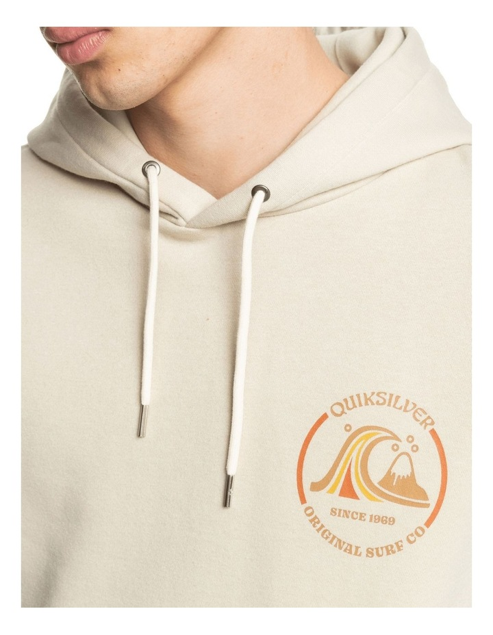 Mirror Logo Organic Long Sleeve Sweat Hoodie image 3