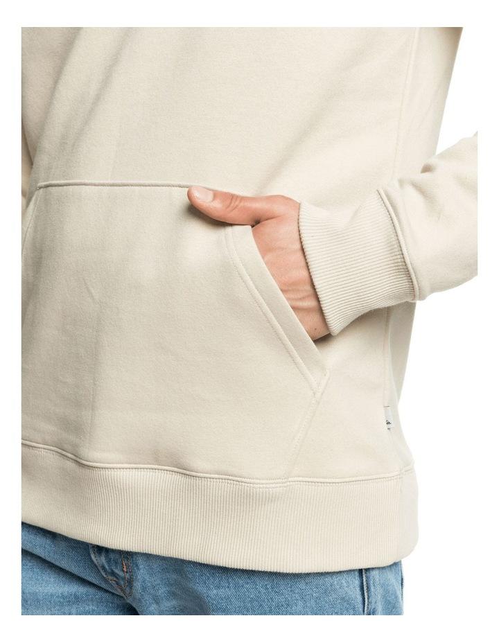 Mirror Logo Organic Long Sleeve Sweat Hoodie image 4
